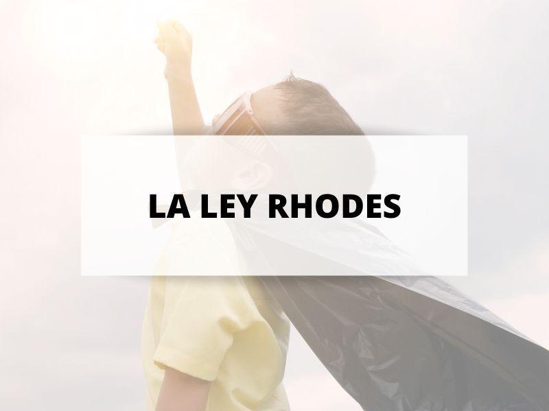 portada ley rhodes