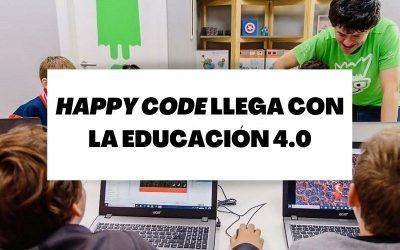 La franquicia Happy Code saca el 'Pack Experiencia' orientado a la educación 4.0